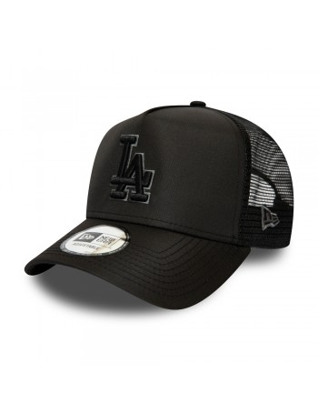 New Era Tonal Black AF Trucker cap LA Los Angeles Dodgers