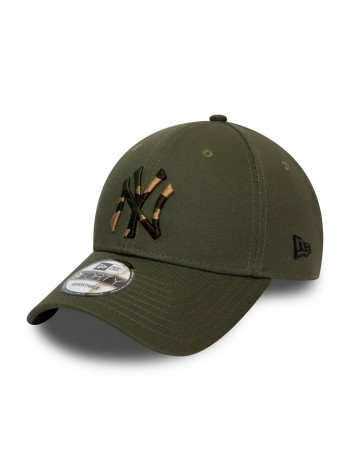 New Era 9Forty Camo Infill (940) NY Yankees - Olive