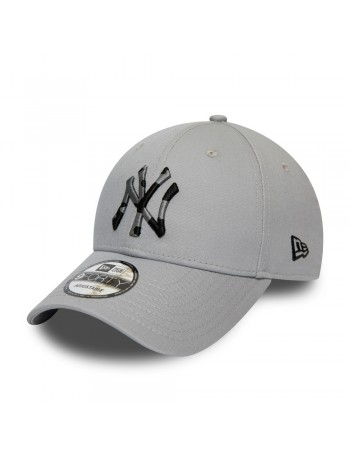 New Era 9Forty Camo Infill (940) NY Yankees - Grey