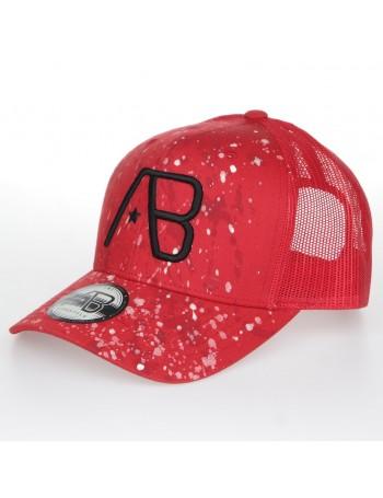AB cap Retro Trucker - The Paint - Red