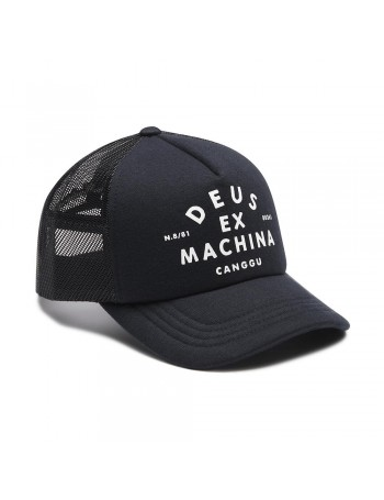 DEUS Austin Canggu Trucker Cap - Midnight Blue