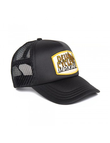DEUS Come Down Trucker cap - Black