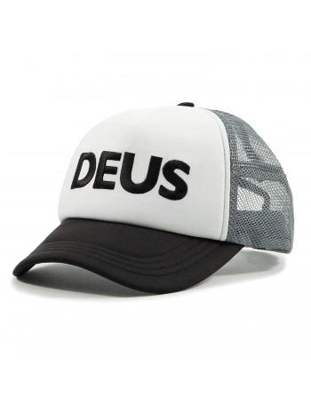 DEUS Caps Trucker kappe - Schwarz-Grau