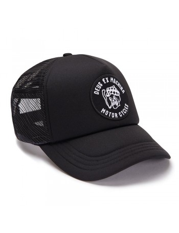 DEUS Kappe Smokey Trucker - black