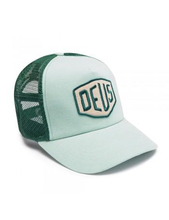 DEUS Trucker Kappe Foxtrot Shield - mint
