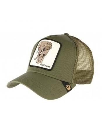 Goorin Bros. Elephant Trucker cap - Olive