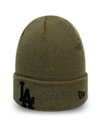 New Era League Essential Cuff Knit Los Angeles Dodgers - Green