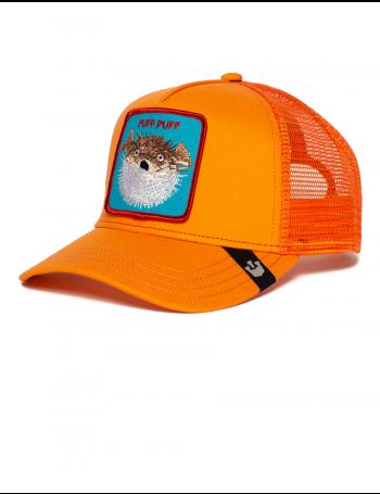 Goorin Bros. Puff Trucker cap - Orange