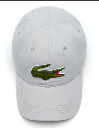 Lacoste Kappe - Big Croc Gabardine - Nimbus