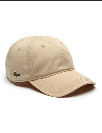 Lacoste Kappe - Gabardine cap - krema brown