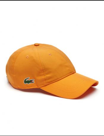 Lacoste Kappe - Sport cap diamond - apricot orange