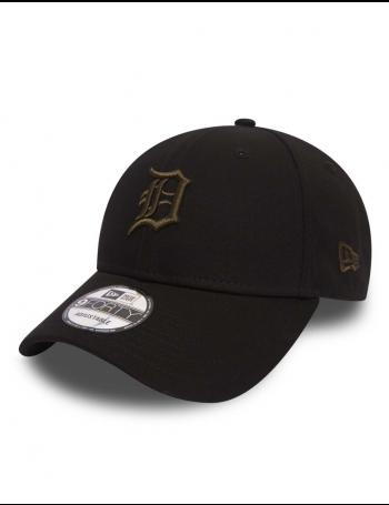 New Era 9Forty League Essential (940) Detroit Tigers Black Olive