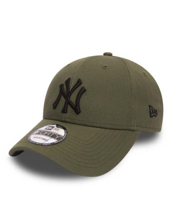 New Era 9Forty League Essential (940) New York Yankees Olive Black