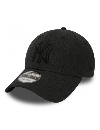 New Era 9Forty Heather Essential (940) NY Yankees - Black