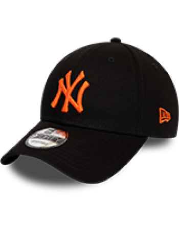 New Era 9Forty League Essential (940) NY Yankees - Black/Orange