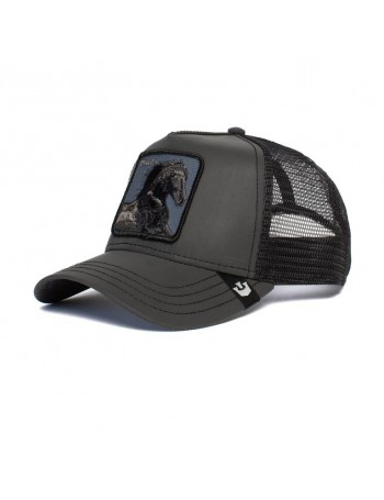 Goorin Bros. Ride That Stallion Trucker cap - Black