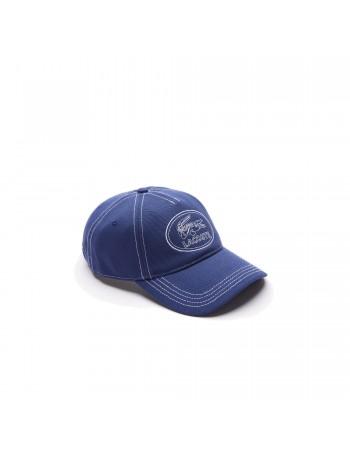 Lacoste cap - Round Crocodile Logo - Darkblue
