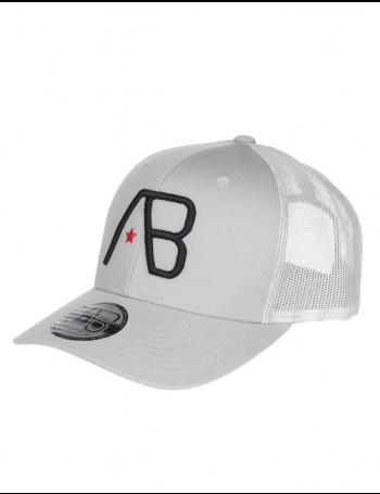 AB cap Retro Trucker - Silver / Black
