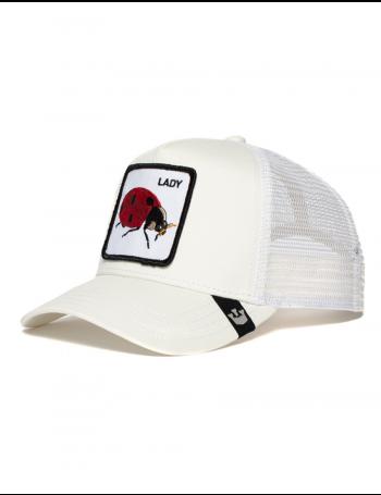 Goorin Bros. Spot Trucker cap - Ivory