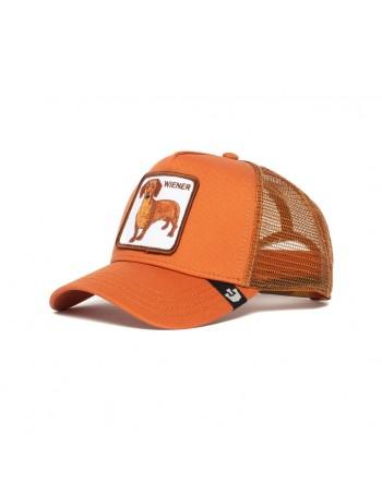 Goorin Bros. Wiener Dog Trucker cap - Orange